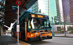 KCM New Flyer DE60LFR #6969 (SolDuc Photography) Tags: seattle new bus buses washington flyer transportation transit pugetsound tacoma bellevue everett downtownseattle soundtransit downtownbellevue kingcountymetro newflyer communitytransit newflyerde60lfr
