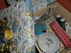 Caixinha para costura (Artesanato by Renata) Tags: pano caixa tecido decorada