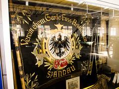 Verein ehem Garde-Fuss-Artilleristen (quinet) Tags: berlin museum germany citadel banner muse fahne spandau zitadelle bannire verein 2013 zitadellespandau gardefusartillerieregiment vereinsfahne