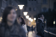 Thoughts and Music (Orione59) Tags: street people urban canon photography florence bokeh candid streetphotography tuscany firenze toscana cinematic ef135mmf20 5dmk3 orione1959 orionephotographer