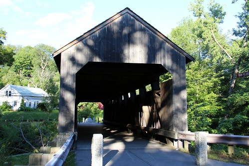 Burkeville Covered Bridge (Conway, Massachusetts)