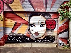 Oriental. (1llustr4t0r.com) Tags: street portrait urban art graffiti melbourne windsor oriental uploaded:by=flickrmobile flickriosapp:filter=nofilter