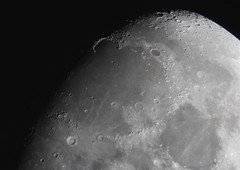 Moon - with Montes Jura , Mare Imbrium and crater Plato (wrblokzijl) Tags: moon luna terminator juramountains montesjura