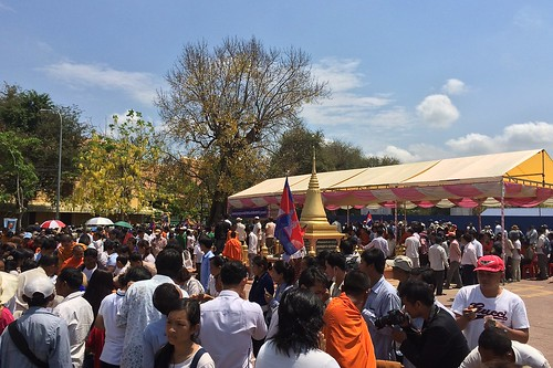 CNRP manifestation Phnom Penh