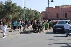On the street in Marrakech