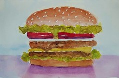 DOUBLE DOUBLE (BonnieBuchananKingry) Tags: paintings