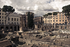 lost in Rome (Alex [Fino] LA) Tags: street city trip italy rome art history monument town ancient ruins capital culture retro zen alexla flickrandroidapp:filter=none