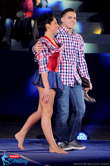 Taylor Spears and Sam Mikulak