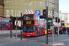 17908 LX03OSB (PD3.) Tags: park uk england bus london buses station sightseeing seeing sight olympic alexander dennis westfield stratford psv pcv trident osb transbus 17908 lx03 lx03osb
