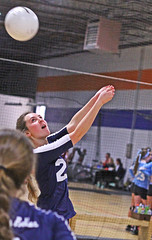 IMG_7661 (SJH Foto) Tags: school girls club liberty high team teen teenager belle volleyball tween burst mode bump
