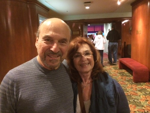 Actors playhouse donors Donna and David Buchwald at the evening production of Ragtime