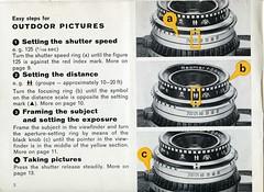 Kodak Retina S2 - Instuctions for use - Page2 (TempusVolat) Tags: kodak retina s2 instructions for use film 35mm guide vintage tempusvolat gareth tempus volat mrmorodo garethwonfor mr morodo epson perfection v200 scan scanner scanning scanned