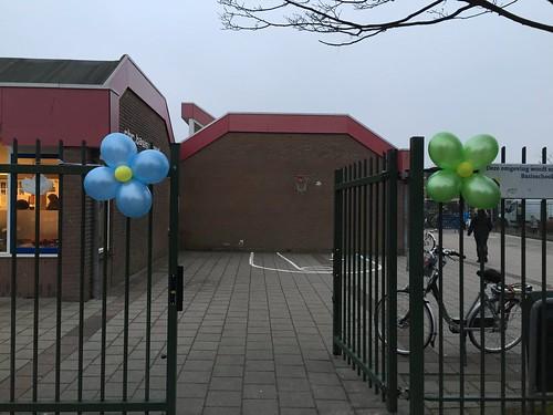 Diverse Ballonbloem Open Dag Basisschool de Bron Spijkenisse