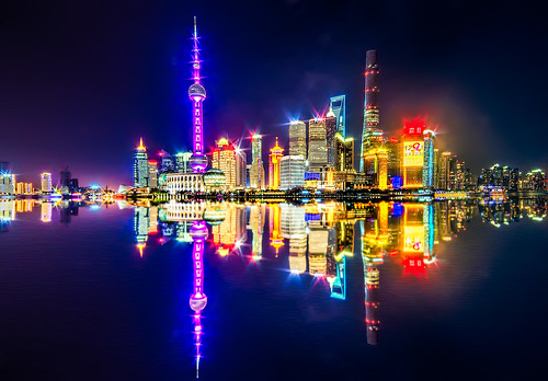 Shanghai Skyline by gags9999, on Flickr