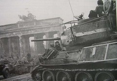 """T-34-85 Soviet tank in Berlin. • <a style=""""font-size:0.8em;"""" href=""""http://www.flickr.com/photos/81723459@N04/16463807866/"""" target=""""_blank"""">View on Flickr</a>"""