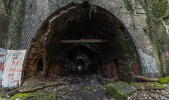 Mapperley Tunnel Entrance (kevaruka) Tags: nottingham uk greatbritain winter england urban sun color colour history abandoned colors sunshine canon eos flickr colours unitedkingdom rail railway sunny tunnel historic explore 5d february coal exploration frontpage derelict britishrail nottinghamshire sunnyday coalmine 1635 gedling eosdigital coalmining 2015 derelictbuilding mapperley dissused canon5dmk3 5dmk3 5d3 eos5dmk3 5diii mapperleytunnel canoneos5dmk3 ilobsterit