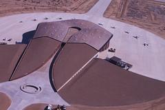 Spaceport America Fly-In aerial, facing East