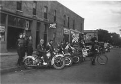 Rescan of the Beloit Motorcycle Club Women's Auxiliary, Beloit, Wisconsin (3) (hondagl1800) Tags: usa wisconsin motorcycle bmc vintagemotorcycle beloitwisconsin harlandkrause beloitmotorcyleclubwomensauxiliary