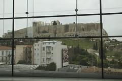 the Acropolis seen from the new Acropolis museum (Ren Mouton) Tags: street museum hellas athens greece athene athina straat ellas griekenland acropolismuseum     makryginni