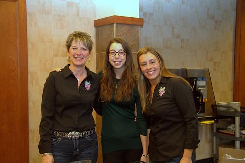 Female Teamsters Quebec Women's Caucus Members at Meeting / Femmes du Caucus condition féminine Teamsters Québec en réunion