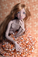DSC_2000 (jullery) Tags: girls portrait girl beauty design beads doll bead bjd beadwork delica beadsofglass bjtales