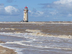 Lighthouse Point  Of Ayr Wales  P1230307 (ianpreston) Tags: lighthouse wales 2016 pointofayr