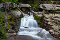 Chasing Waterfalls (Somuchtwosay) Tags: longexposure green nature pool beautiful face river moss spring nikon rocks whitewater stream exposure natural drop canyon falls glen valley nikkor tones cascade sureal chute plunge dx gully d7200