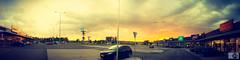 Dramatic Sunset (Dragon6902) Tags: city sunset sky panorama sun art nature sunshine clouds photography outdor vsco citylens