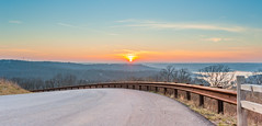 Sunset at Ridgedale Branson MO (Detours Magazine) (Nhideth) Tags: sunset hill pass mo branson