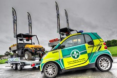 ATVs & Smart Car Ambulance (QuadSpotter) Tags: advertising atv trailers medics allterrainrescue wwwquadmedicalcouk quadmedical allterrainambulance smartcarambulance