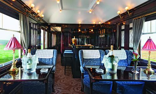 Venice Simplon-Orient-Express Champagne Bar