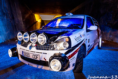 Blue nigth (jmrobles_13) Tags: car rally ruinas coche tunel ligthpainting
