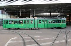 2015-09-28, Basel, Messeplatz (Fototak) Tags: switzerland tram basel strassenbahn bvb 652 dwag ligne21