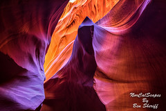 Antelope Canyon (Ben Sheriff Photography) Tags: vacation arizona page navajo antelopecanyon