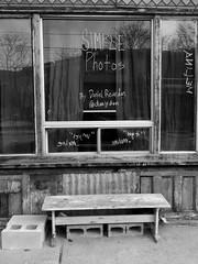 Simple Photos (geowelch) Tags: toronto blackwhite photographer storefront urbanfragments dundasstwest olympusmzuikodigital1442mm olympusepl5