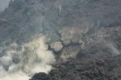 Fractured Ground (Derbyshire Harrier) Tags: hot volcano mediterranean steam gas crater sicily sulphur geology etna fractured 2016 mountetna activevolcano fumaroles tephra boccanuova