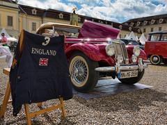 England (FocusPocus Photography) Tags: auto england 1955 car classiccar vintagecar historic mg oldtimer 1500 carshow ludwigsburg tf historisch automobil automobilausstellung retroclassicsmeetsbarock