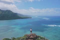 You and Blue (VitarboPhotos) Tags: landscape hawaii hiking fujifilm environmentalportrait xseries fujifilmx fujixe2 xf16mm fujifilm16mm