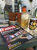 Beer and a good read (st_asaph) Tags: beer trainsmagazine