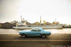 Ford Mustang Code J 1968 347 Stroker (Rmy | www.chtiphotocar.com) Tags: ford motor company fomoco mustang pony v8 302 347 stroker tiffany blue muscle car american usa small block code j 1968 coup photo nikon sigma lightroom photoshoot knokke le zoute heist belgium belgie