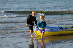 Belgian coast (Natali Antonovich) Tags: sea portrait water childhood children northsea belgiancoast