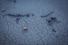 Wash Debris, Gower Gulch (dubland) Tags: california nature rock desert mud outdoor dry cracks lookingdown deathvalleynationalpark calebweston
