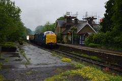 55022 (as 55007) at Sleights (colin9007) Tags: english electric grey yorkshire royal class coco 55 napier scots sleights nymr deltic d9000 55022