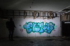 Tag (payne1703) Tags: light selfportrait streetart lightpainting abandoned self painting person graffiti bright artistic selfie