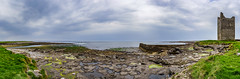 O'Dowd Castle: Easky (Falcdragon) Tags: ocean travel ireland panorama holiday seascape castle abandoned landscape ruins europe atlantic fortification thewildatlanticway ilce7 sonya7alpha