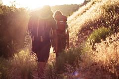 Namaste (minorninth9) Tags: camping sunset sun trekking walking utah hiking climbing backpacking zion rays