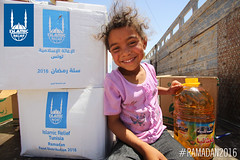 Islamic Relief's Ramadan food distribution in Tunisia.