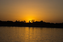 Sunset (cpt_ahmed93) Tags: sunset sun nileriver nature aswan
