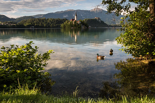 Bled in Slovenia and the gorgeous Bled island (Pletna).