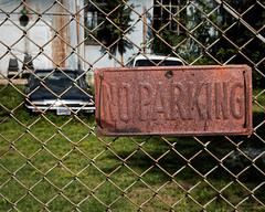 you don't say (fallsroad) Tags: cars abandoned car sign fence rust rusty rusted tulsaoklahoma nikonsigma nikond7000
